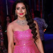 Actress Nandini Rai Photos at Zee Telugu Kutumbam Awards Event