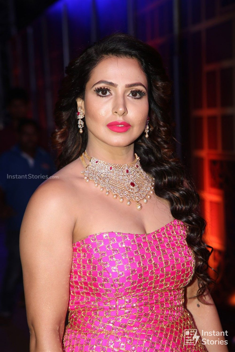 Actress Nandini Rai Photos at Zee Telugu Kutumbam Awards Event (16232) - Nandini Rai