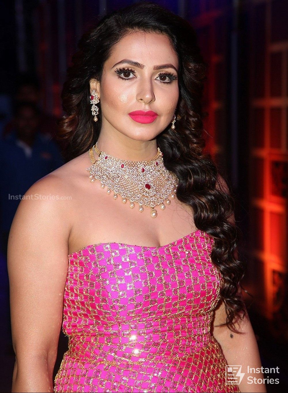 Actress Nandini Rai Photos at Zee Telugu Kutumbam Awards Event (16238) - Nandini Rai