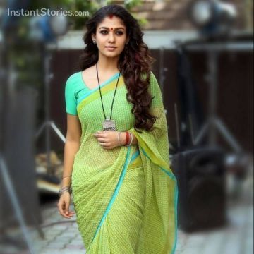 Nayanthara Beautiful Images in Saree