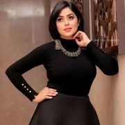Shamna Kasim (Poorna) Hot HD Photoshoot Photos in White & Pink Dress (1080p)